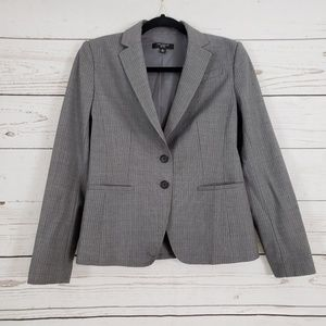 Ann Taylor Career Jacket in Gray